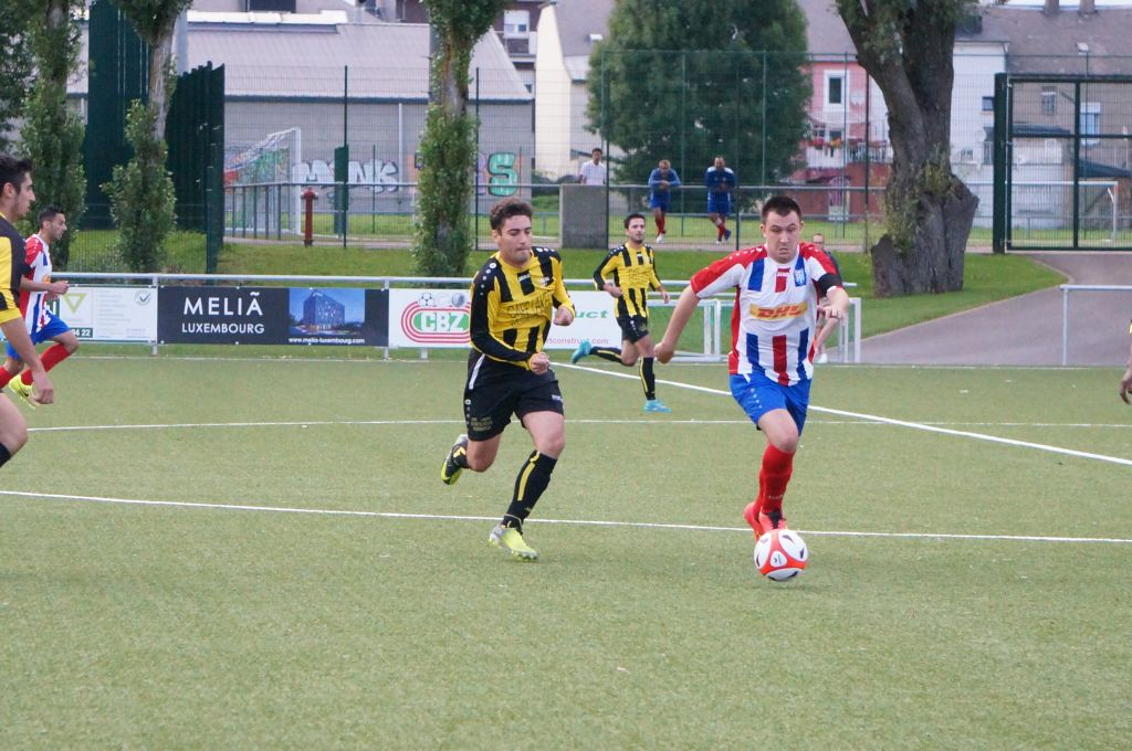 Tricolore - Red Black Egalité 0-2 Match éliminatoire Coupe Louis Braun 08.08.2017 13.JPG